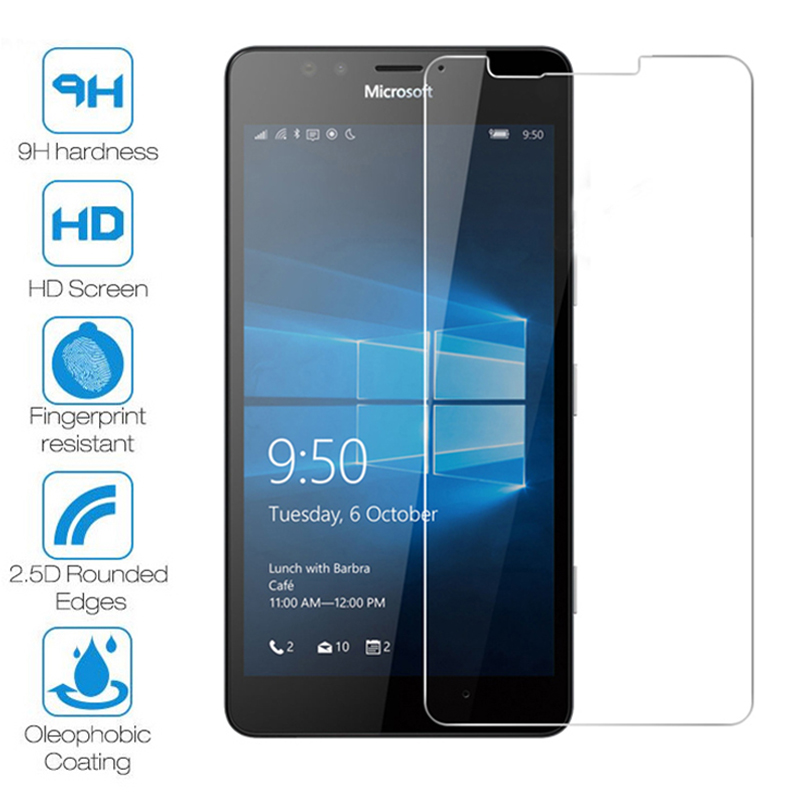 Screen Protector For Nokia Lumia 950 640 635 630 Protective Glass On Lumia 535 530 520 Tempered Glass For Nokia 9 PureView X71