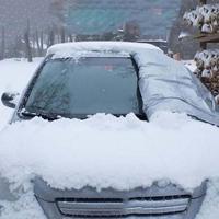 Proteção exterior do carro neve bloqueado carro cobre neve gelo protetor viseira sun sombra fornt traseiro pára-brisa capa block shields