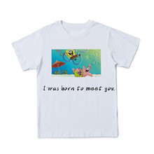 summer 3D Boy And Girl Animated Cartoon T-shirts Funny Cute T-shirt Street Elements Funny Cute Parent-child T-shirts Size110-6XL