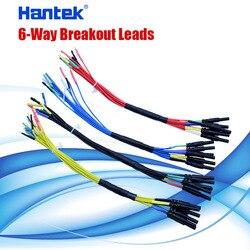 Hantek 6-way breakout leads (ht306) vendas diretas da fábrica