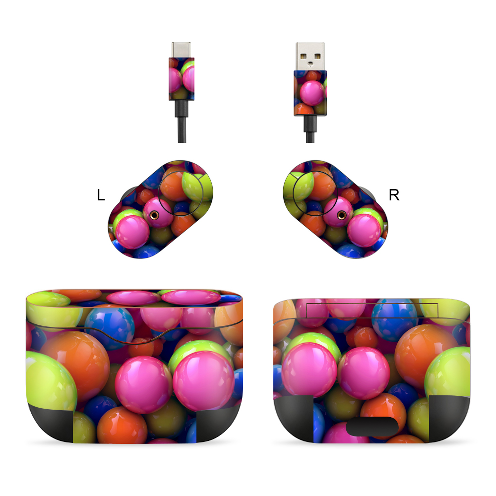 3M Material Skin Protective Headphone Sticker Personality Decal Skin For Sony-wf-1000XM3
