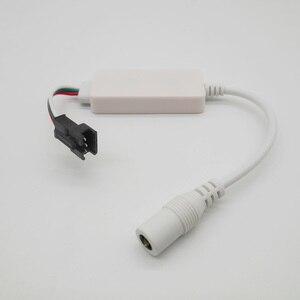 Image 4 - DC5V DC12 24V Magic Home LED SPI Controller Addressable 2048 Pixel Mini WiFi Controller For WS2811 SK6812 WS2812B LED Strip