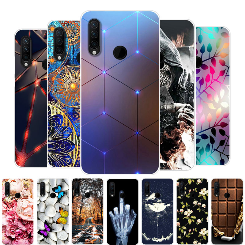 """For Huawei Honor 20S Case Silicone Painting TPU Soft Back Cover Phone Case on For Huawei Honor 20S 20 S MAR-LX1H Fundas 6.15"""""""