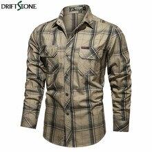 Outono nova camisa militar tático dos homens de algodão do exército de combate camisas plus size 4xl manga longa camisa masculina