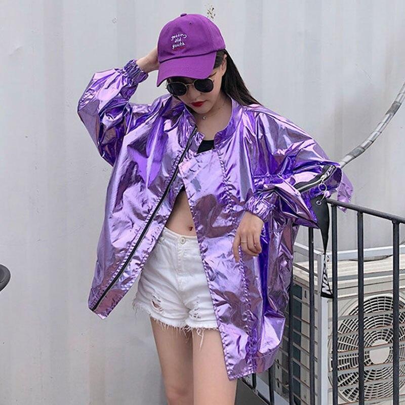 Harajuku Oversized Jacket Women 2020 Spring Autumn New Arrival Outwear Coat Hip Hop Streetwear Loose BF Style Jackets QT23