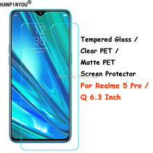 "Tempered Glass / Clear PET / Matte PET - Screen Protector Protective Film For OPPO Realme 5 Pro 5Pro / Q 6.3""(China)"
