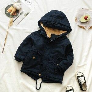 Image 5 - Синие зимние пальто и куртки для мальчиков, детские куртки на молнии, плотная зимняя куртка для мальчиков, высокое качество, зимнее пальто для мальчиков, детская одежда