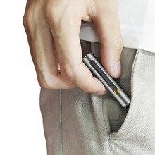 Складной телескопический Открытый EDC Многофункциональный инструмент. Портативный микро-Лезвие Мини карманный бумажный резак, телескопический инструмент брелок