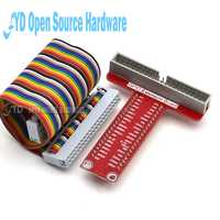 Raspberry PI T +40 Pin Extension Flat GPIO Cable Wire DIY kit