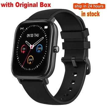 2020 Smart Watch Men Women P8 Sports Smart Watch Fitness Heart Rate Smart Bracelet Touch-Screen IPX7 Watch Smart For Android IOS