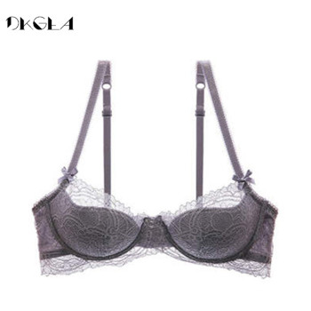 Fashion Young Girl Bra Plus Size D E Cup Thin Cotton Underwear Women Sexy Brassiere Pink Lace Lingerie Push Up Bras Embroidery 3