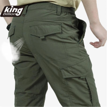 KB Men's Lightweight Tactical Pants Breathable Summer Casual Army Military Long Trousers Male Waterproof Quick Dry Cargo Pants