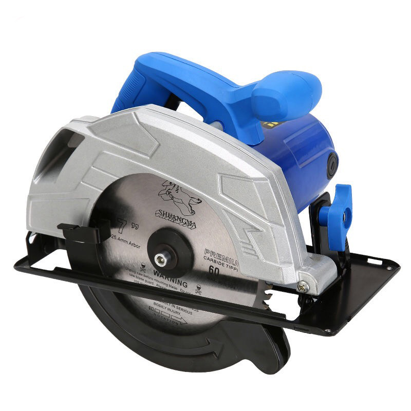 Image 2 - Electric Woodworking Circular Saw 1500W 7 inch 60mm Multi function Cutting Machine Household Small Flip Saw CircularElectric Saws   -
