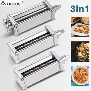 Attachments-Set Pasta-Maker Kitchenaid-Stand-Mixer 1 for Including Spaghetti-Cutter 1set