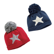 New Star Baby Boys Girls Hat Autumn Winter for Kids Cotton Knitted