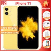 "Apple iPhone 11 Liquid Retina Display Cellphone 4GB +64GB/128GB 6.1"" iOS A13 Bionic 12MP Camera Unlocked Used Smartphone 1"