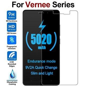 Перейти на Алиэкспресс и купить 9H 2.5D Закаленное стекло Vernee M3 M5 M6 X1 X2 Mix 2 Mars Pro Thor E Защитная пленка для экрана Vernee V2 Pro Thor Plus