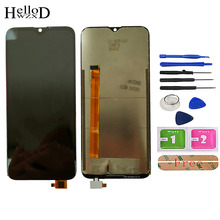 6.1'' LCD Display For Doogee Y8 LCD Display With Touch Screen Assembly Repair Part Mobile Accessories Lens Sensor Tools