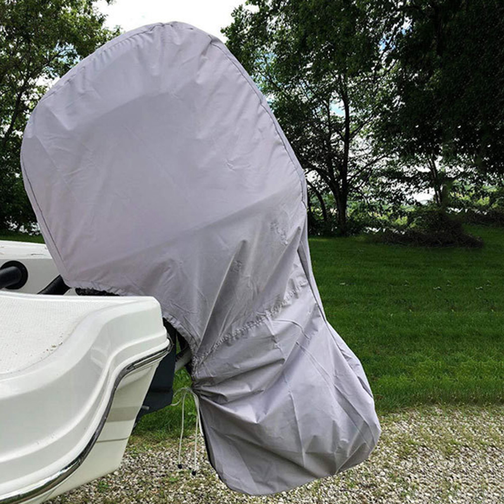 Boat Engine Cover Waterproof Dustproof Uv Resistant Motor Oxford Protection Outdoor Accessories