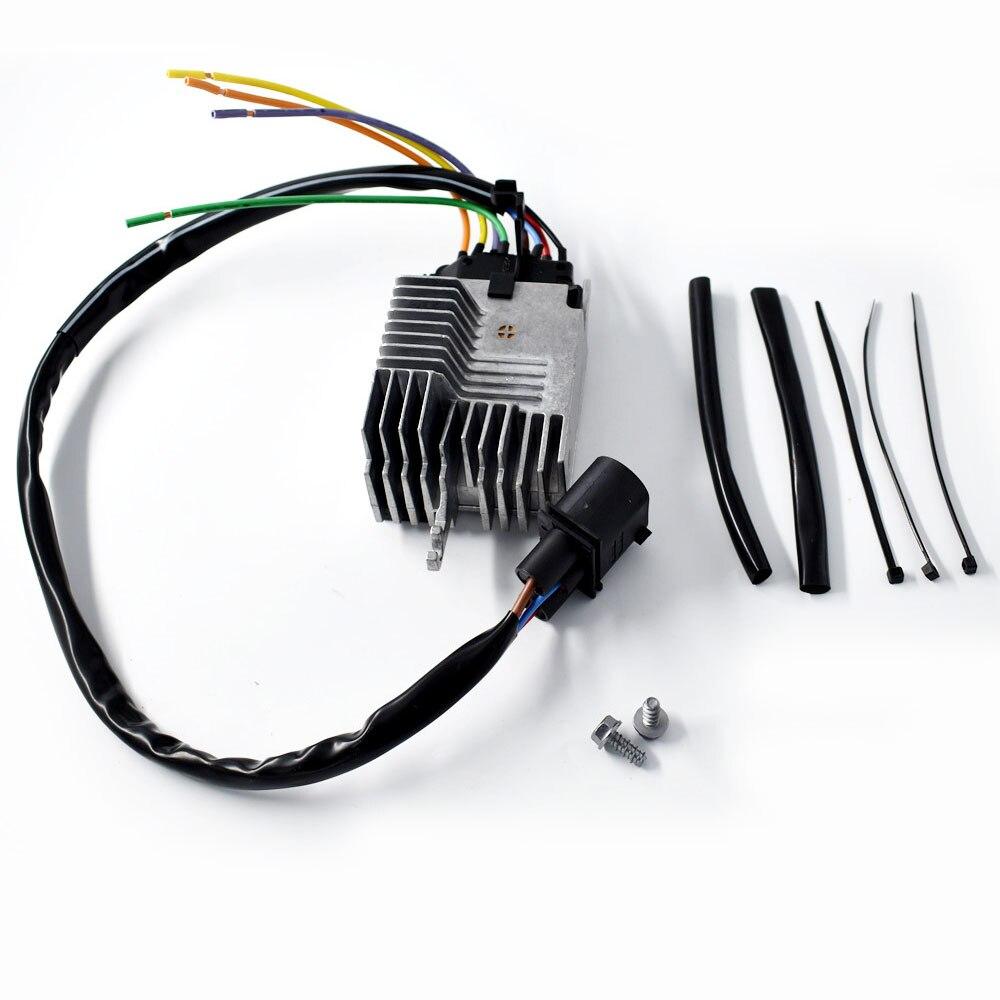 Module de commande de ventilateur de refroidissement de radiateur adapté pour Audi A4-A4 Quattro partie # 8E 0959 501