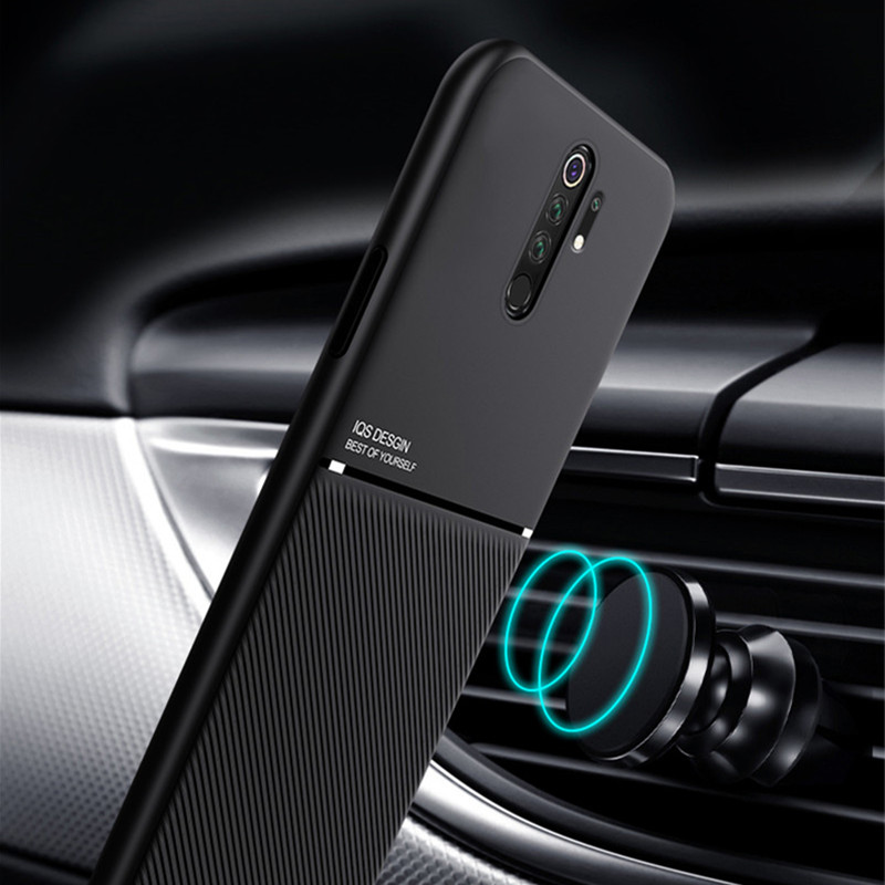 Slim Matte Leather Case For Xiaomi Redmi Note 7 8 Pro 5 8T Case Redmi 7A 8 8A K20 K30 Pro Mi Mix 3 5X 6X Car Holder Cover Cases