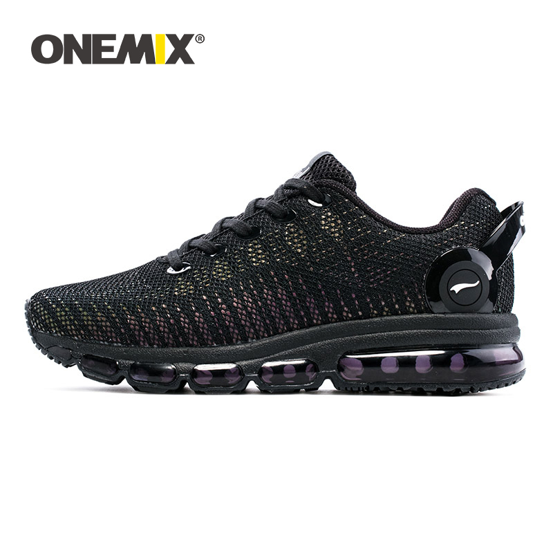 ONEMIX Sneakers Men Tennis Shoes Air Mesh Breathable Comfortable Reflective Sport Trainers Women Walking Footwear For Jogging
