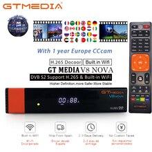 Tv-Receiver Server Nova Satellite Oscam Gtmedia V8 Support Cccam Spain WIFI Most-Stable Europe DVB-S2 Newest 7lines