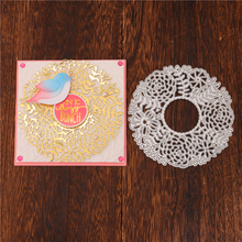 Eastshape Flower Frame Dies Circle Metal Cutting New 2020 for Card Making Scrapbooking Embossing Paper Stencil