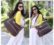 New European Version Multifunctional Fashion 600D Waterproof Mommy Bag Slanting Large Capacity Maternal and Infant Waiting