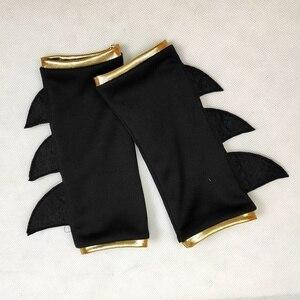 Костюм летучей мыши для девочек 2020, детское платье-пачка костюм на Хэллоуин (3-9 лет), 4 предмета/1 комплект, нарядное платье отличное Шитье