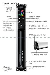 Image 5 - Yongnuo YN360 mini Portable Light tube RGB Full color Fill Light Photography Lighting Stick Video Light app control vs 6C