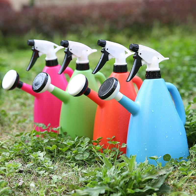 Новый маленький пластиковый спрей для полива растений 2 в 1, прочный садовый спринклер для полива цветов, садовый инструмент|Канистры для воды|   | АлиЭкспресс