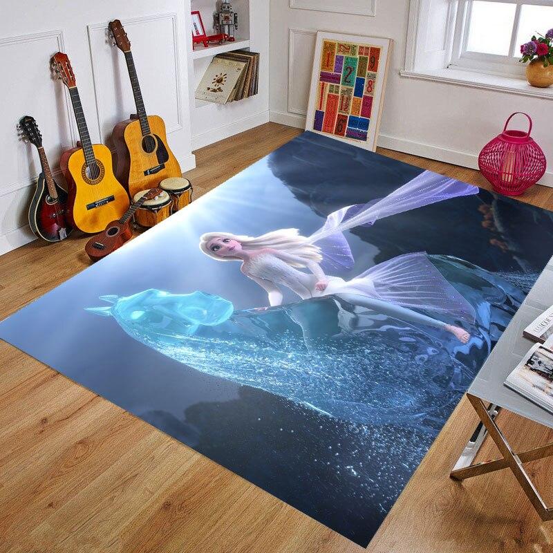 Reine des neiges Anna Elsa tapis de jeu tapis de porte enfants garçons filles jeu tapis tapis enfants tapis chambre cuisine tapis intérieur salle de bain tapis cadeau