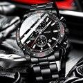 BELUSHI 2021 Neue Herren Uhren Top Luxus Marke Sport Wasserdichte Chronograph Edelstahl Quarzuhr Männer Relogio Masculino