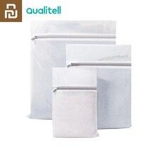 Orijinal Youpin yüksek kaliteli çamaşır torbası beyaz 3 adet/torba önlemek için Tangles azaltmak için aşınma ve yıkama ve kuru son kat
