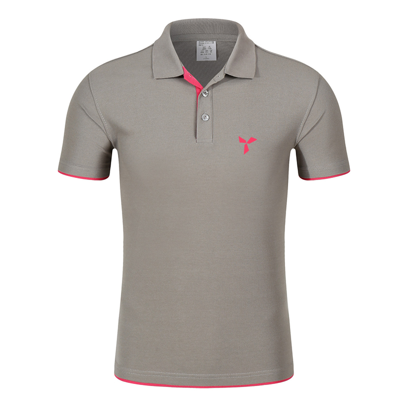 2020 NEW Clothes Men Knitted Polo Shirt Contrast Color Short Sleeve Turn-down Neck Top Breathable Plus Size Sport Men's Polo Tee 9
