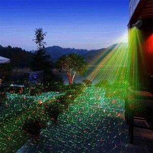 Image 2 - Hareketli Noel Lazer Projektör Işıkları Açık Su Geçirmez Peri Gökyüzü Yıldız Sahne Spot Duş Bahçe çim ışığı DJ RGB Işık