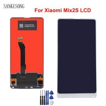 """For Xiaomi Mi Mix 2S LCD Display with Touch Screen Digitizer For Mi mix 2S Display Pantalla Screen 5.99"""" free shipping"""