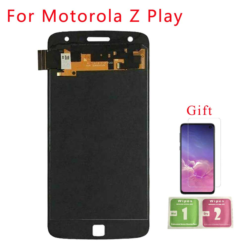 For Motorola Moto Z Play <font><b>XT1635</b></font> LCD <font><b>Display</b></font> Touch Screen Digitizer For MOTO Z Play <font><b>XT1635</b></font>-02 LCD Screen Digitizer Assembly image