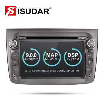 Isudar Android 9 Auto Radio 1 Din For Alfa Romeo Mito 2008- CANBUS Car GPS Multimedia Quad Core Video DVD USB DVR Camera DSP FM