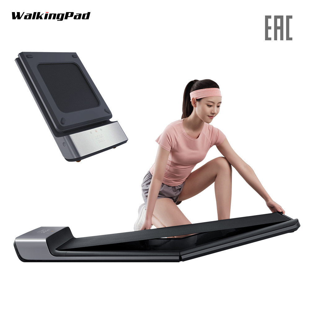 WalkingPad A1 Track Foldable Smart Electric Space Walk Machine Light Sport Treadmill Aerobic Exercise Train Home Workout Runway