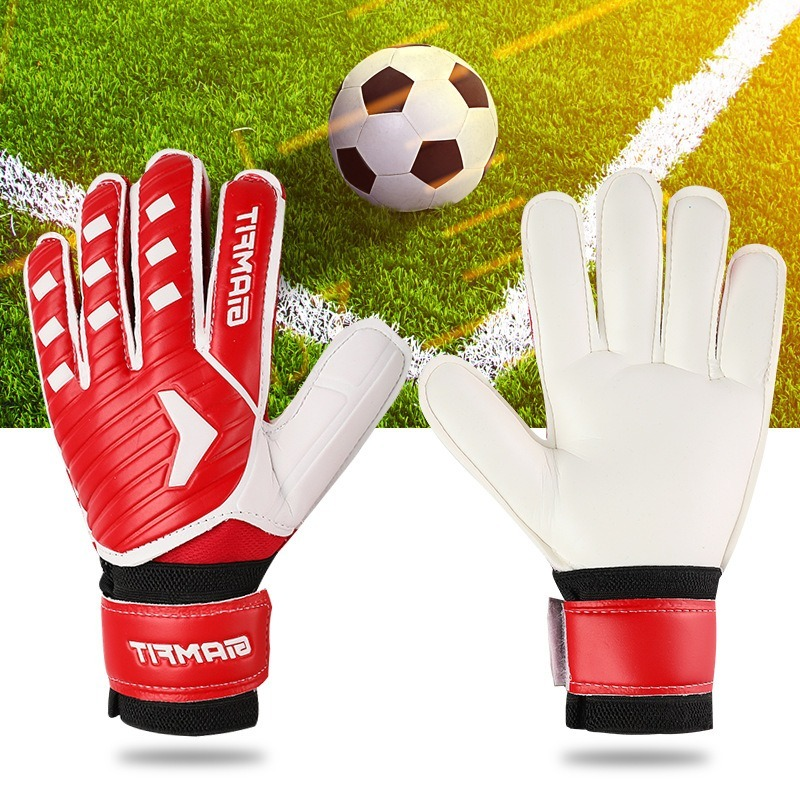 Children's <font><b>Professional</b></font> <font><b>Football</b></font> Fingernail Protector Wear-Resistant Anti-Impact <font><b>Goalkeeper</b></font> Training <font><b>Gloves</b></font> image