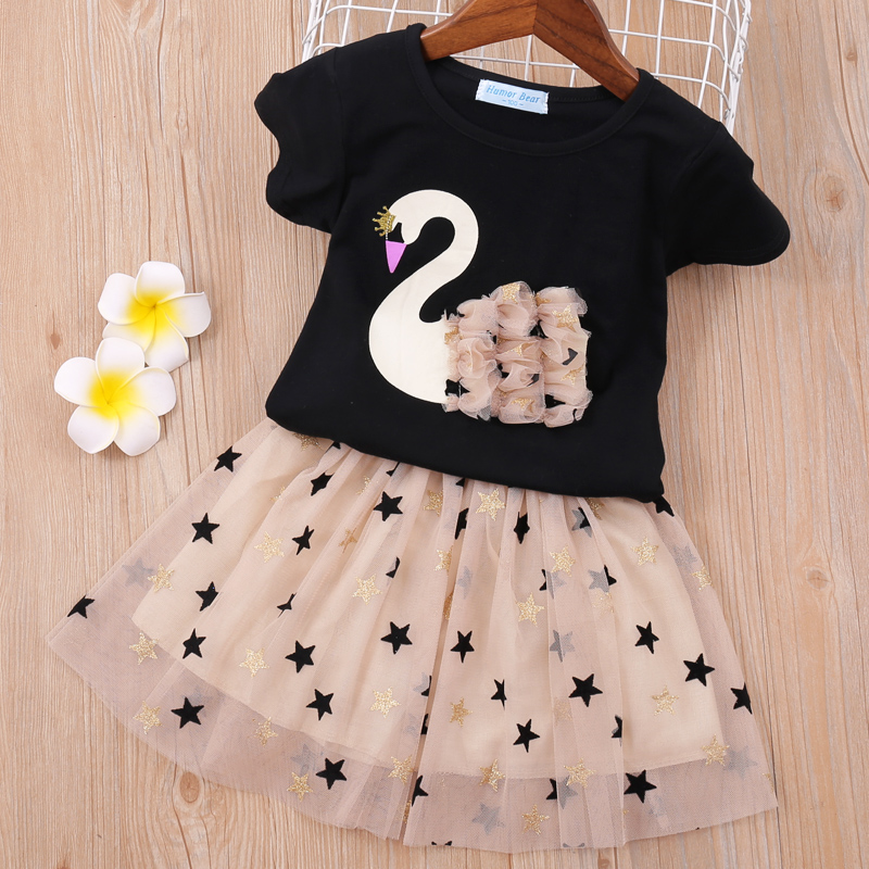 H6f96055c4ef4494fa31d3395e11f59c2Z - Humor Bear Baby Girl Clothes Hot Summer Children's Girls' Clothing Sets Kids Bay clothes Toddler Chiffon bowknot coat+Pants 1-4Y