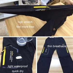 Image 5 - LoClimb Outdoor Hiking Pants Men/Women Stretch Quick Dry Waterproof Trousers Man Mountain Climbing/Fishing/Trekking Pants AM051