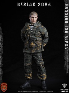 Image 2 - CrazyFigure LW009 Russian Alpha Special Forces Sniper 1/12 ACTION FIGURE
