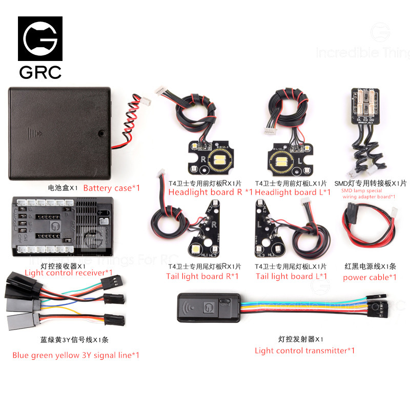 GRC GRC Wireless Linkage SMD Light Set Light Controller 4 Channel