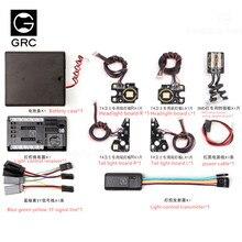 Grc grc ワイヤレスリンケージ smd ライトセットライトコントローラ 4 チャンネルリンケージライトセットのための適切な TRX4 T4 ガードディフェンダー