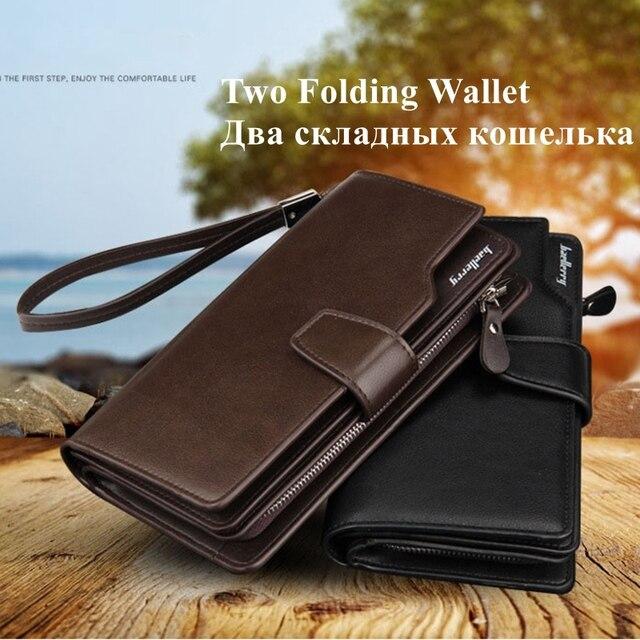 Baellerry Long Wallet Men Zipper Purse for Men Coin Purses Clutch Male Wallets portefeuille homme MWS002-4 4
