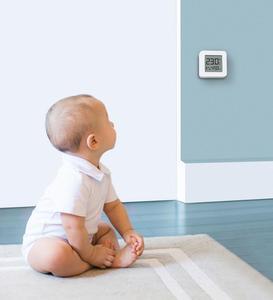 Image 5 - In bundle di Vendita Xiaomi Smart Schermo LCD Termometro Digitale 2 Norma Mijia Bluetooth Sensore di Umidità di Temperatura Misuratore di Umidità Norma Mijia App