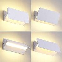 Led Wall Lamp Modern Bathroom Light Nordic Mirror Light Aluminium Bedroom Lamp Stair Light Vanity Light AC 85V~265V 110V 6W 12W